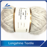 top quality hand knit yarn 4.1NM 15% wool 60% acrylic 25% polyester wool yarn for baby