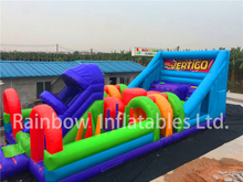 RB5070(12x5m) Inflatable high quality Obstacle Course hot sell