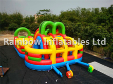 RB5073(9x6x4m) multi-functional inflatable obstacle course
