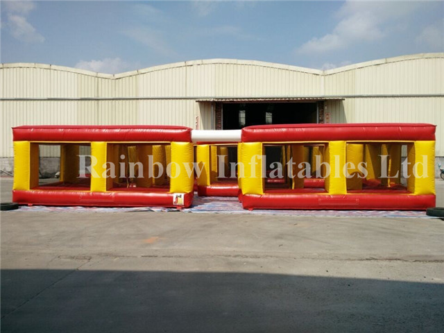 Inflatable Maze Obscatle for Kids