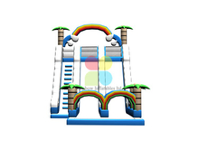 RB06114(15x6x7m)Inflatable jungle double slide new design for sale
