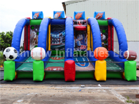 RB9035 (5.5x3m)Inflatable Basketball Football Gate Sports Games
