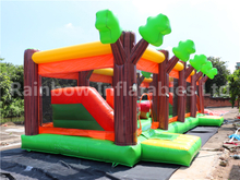 RB5204(12x5.5x4m) Inflatable Apple Jacks long obstacle courses equipment for sales
