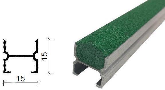 金刚砂地下室防滑坡道防滑条-15*15 mm-1