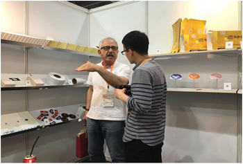 Our RFID tag in 2018 Pringting&Packing Fair