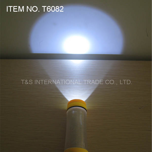 Emergency LED Flashlight for Auto-Used