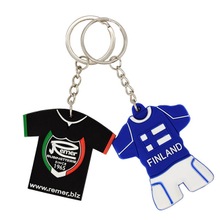 Custom key chains with pvc rubber material and bossed logo