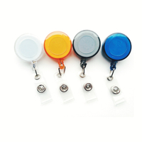Custom Badge Reels with Print Logo And ABS Material for Id Pouch
