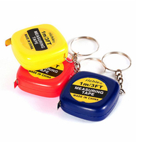 Custom Plastic Material of Square Tape Measure with Logo Print