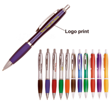 Custom plastic ballpen with print logo for writting