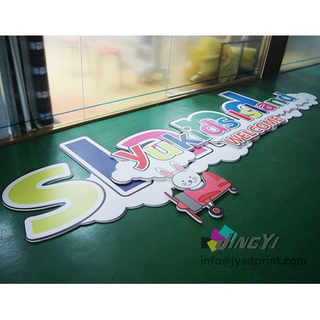 Custom PVC Foam Banner, High Quality Wall Mounted Snap Frame PVC Foam Panel Advertising Signage Banner, Plastic PVC Foam Board Promotion Display Banner