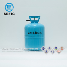Handle Pulling Small Disposable Helium Gas Cylinder