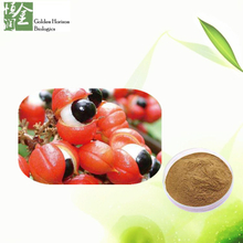 Factory Price Natural Water Soluble Guarana Seed Extract Powder Caffeine 10% 20%
