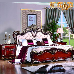 W806A Bedroom Furniture Set with Antique Bed