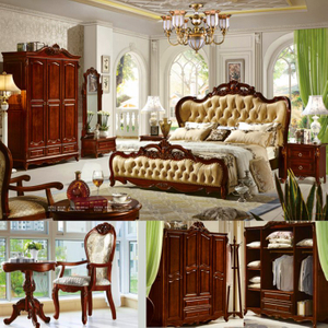 Wooden Bed for Bedroom Furniture Set