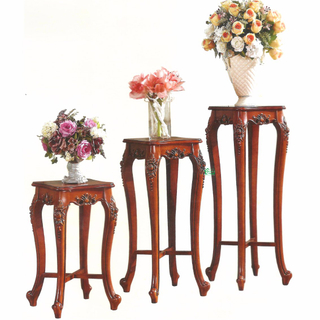 Wood Flower Stand Cabinet for Home Furniture