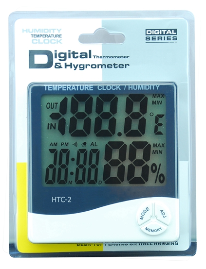 In/out door Thermo-Hygrometer HTC-2