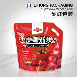 kechup packing bag for industrial use