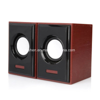 USB Speaker Wood Similar Case