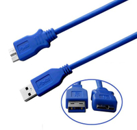 USB 3.0 Cable Micro Port