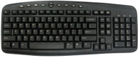 Cool Design Keyboard with 10 Multimedia Keyboard for Computer