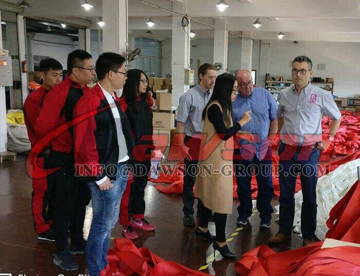 中国ダウソングループ株式会社ウェビングスリングリフトラウンドスリングサプライヤー