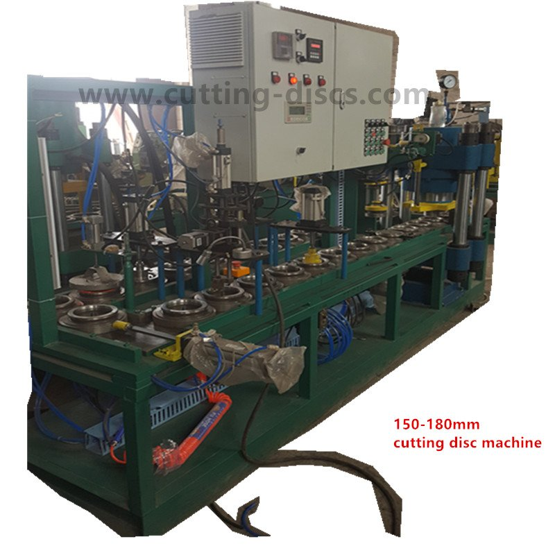 105-125mm Cutting Wheel Making Machine
