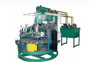150-230mm automatic moulding press machine for cutting grinding wheel