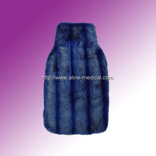 Rubber Hot Water Bottles W/Cloth Cover