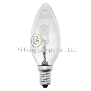 Eco Tw35 53W Energy Saving Halogen Bulbs, Twisted Candle