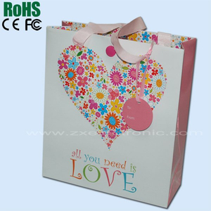 Gift bag with music for promotion