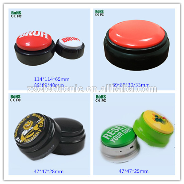 Electronic Music Buttons/Sound Buzzer Button