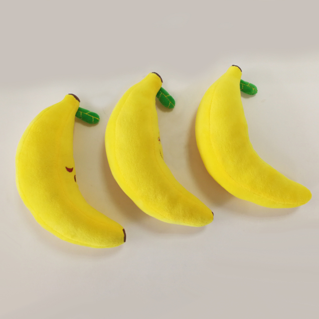 Funny Fruit Banana Big Plush Doll Expression Soft Plush Toys