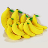Banana Shape Plush Toys Cute Embroidery Stuffed Hanging Plush Toys
