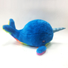 Cartoon Blue Unicorm Dolphin Sea Animal Plush Kids Toy