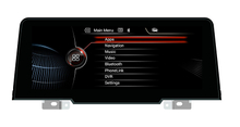 BMW EVO X1 F52 Android 8.0 Car DVD Player 3g Anti-Glare