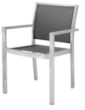 Outdoor Textilene Chair with Aluminum Frame (LN-8002)