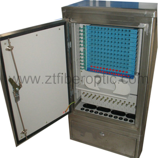 Cold Rolled Steel 144fibers Distribution Cabinet