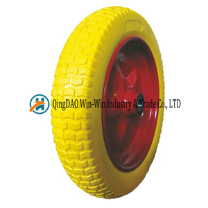 PU Foam Wheel Usde on Wheelbarrow Wheel (4.00-10)