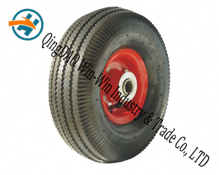 "10""X3.50-4 Pneumatic Rubber Wheel for Trolley"