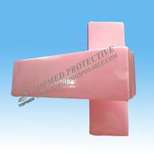 Disposable Nonwoven Wax Strip pink depilation strips for hair remove