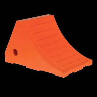 NWH-WCK02 10T Polyurethane Safety wheel chock