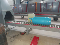 LPG Gas Cylinder Drying Oven for Automatic Production Line