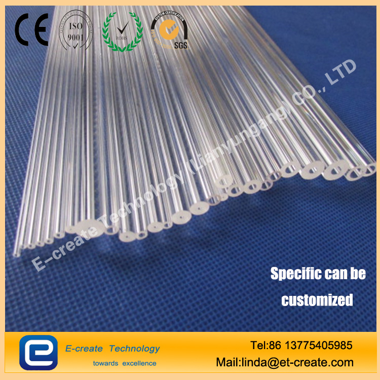 Glass capillary, quartz capillary, high-precision quartz capillary processing, scientific research with quartz capillary