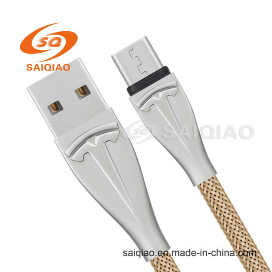 Factory Direct Sale Type-C2.0 Braided Charging Data Cable