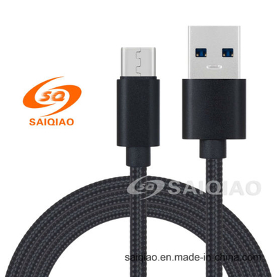 USB 3.0type-C Braided Charging Data Cable for Huawei