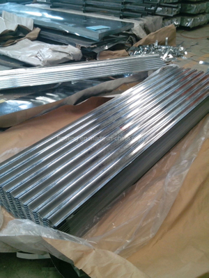 Galvanized Corrugated Steel Sheet / Roofing Sheets Prices in Ghana