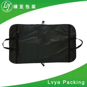High quality non woven suit cover garment zipper bags