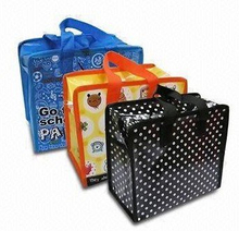 Waterproof Promotional Carrier Bag with Zipper (LYSP22)