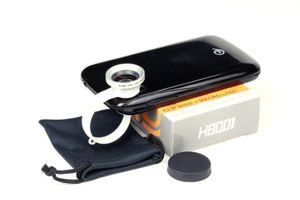 Universal Clip-on 180 Degree Fish Eye Lens for Samsung iPhone